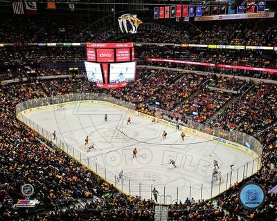 Nashville Predators Bridgestone Arena 2013 Photo