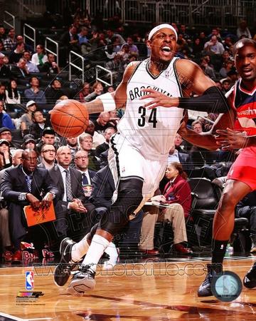 Brooklyn Nets Paul Pierce 2013-14 Action Photo