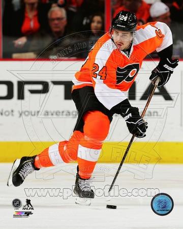 Philadelphia Flyers Matt Read 2013-14 Action Photo