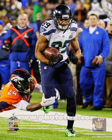 Doug Baldwin Super Bowl XLVIII Action Photo