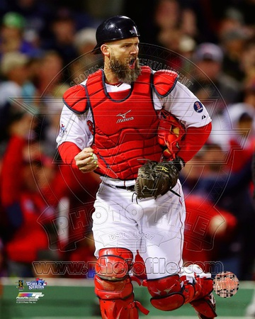 David Ross Game 1 of the 2013 World Series Photo