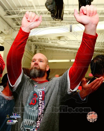 David Ross Game 6 of the 2013 World Series Photo