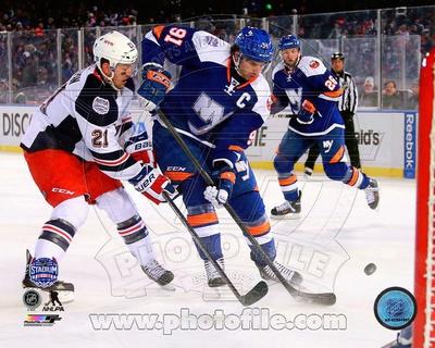John Tavares 2014 NHL Stadium Series Action Photo