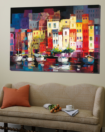 Seaport Town I Posters by Willem Haenraets