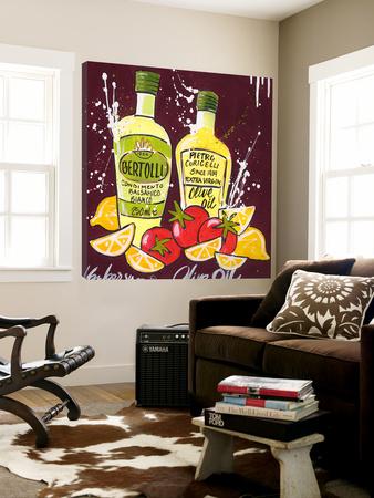 Olive Oil Prints by El Van Leersum