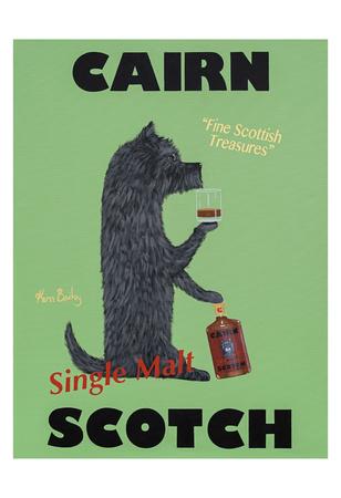 Cairn Scotch Stampa da collezione di Ken Bailey