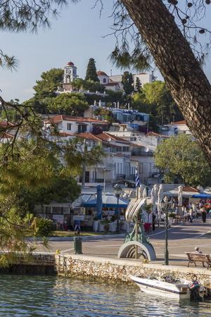 Seafront, Skiathos, Sporades, Greek Islands, Greece, Europe Photographic Print by Rolf Richardson