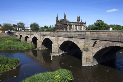 Wakefield Bridge and the Chantry Chapel Photographic Print by Mark Sunderland
