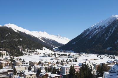 Davos, Graubunden, Swiss Alps, Switzerland, Europe Photographic Print by Christian Kober