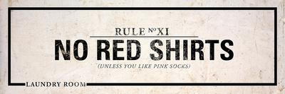 Laundry Rules II Prints