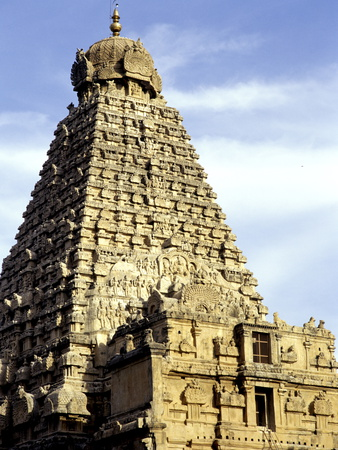 Brahadeeshwara Temple, UNESCO World Heritage Site, Thanjavur, Tamil Nadu, India, Asia Photographic Print by Balan Madhavan