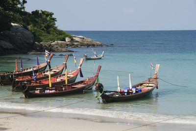 Kata Beach, Phuket, Thailand Photographic Print by Robert Harding
