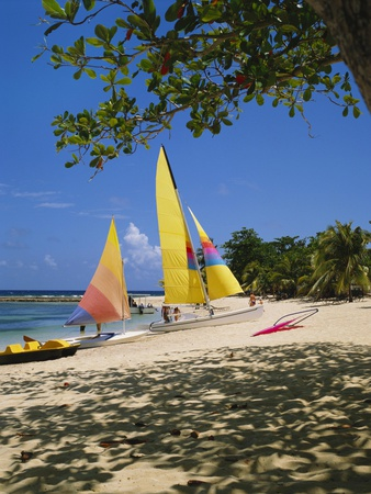 Soufriere, St Lucia, Caribbean Stampa fotografica di Robert Harding