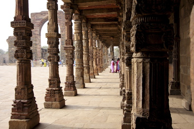 Qutub Complex, UNESCO World Heritage Site, Delhi, India, Asia Photographic Print by Balan Madhavan