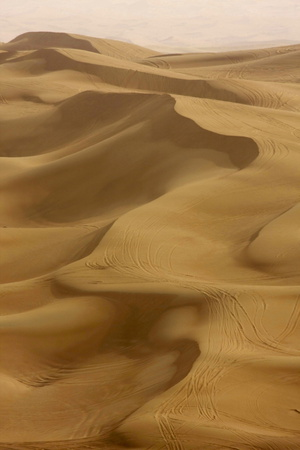 Sand Dunes, Dubai, United Arab Emirates, Middle East Photographic Print by Balan Madhavan