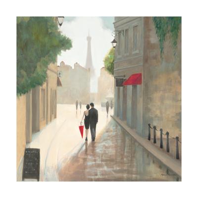Paris Romance I Premium Giclée-tryk af Marco Fabiano