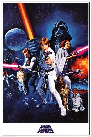 Star Wars A New Hope plakat