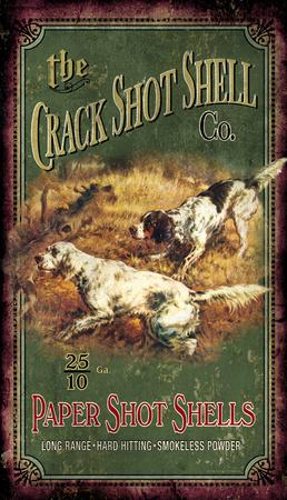 The Crack Shot Shell Co. Vintage Wood Sign Wood Sign