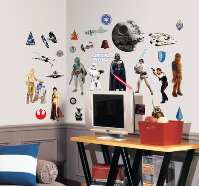 Star Wars Classic Peel & Stick Wall Decals Muursticker