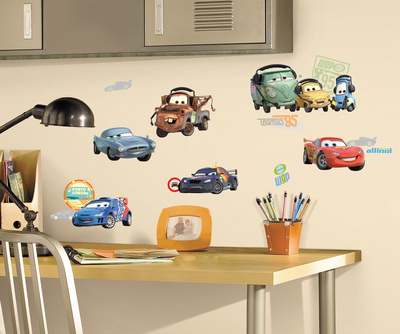 Cars 2 Peel & Stick Wall Decals Wall Decal