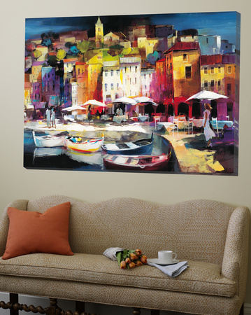 Seaport Town II Prints by Willem Haenraets