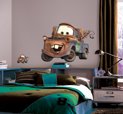 Cars - Mater Peel & Stick Giant Wall Decal Wall Decal