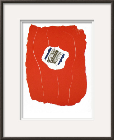 Tricolor from XXieme Siecle Posters by Robert Motherwell