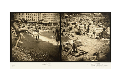 Beach 2, Italy Photographic Print by Theo Westenberger
