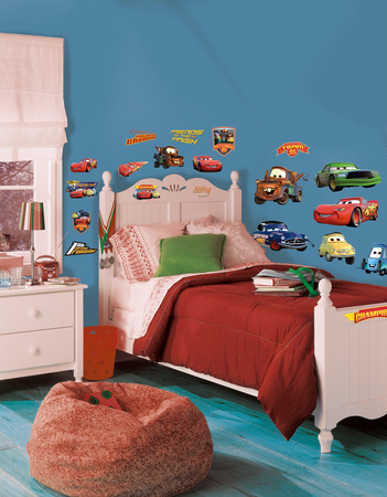 Cars - Piston Cup Champs Peel & Stick Wall Decals Muursticker