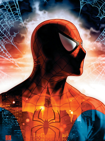 Spider- Man Unlimited Issue No. 8 Cover Art by Shinkiro