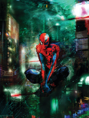 Timestorm 2009/2099 No.1 Cover Art of Spider-Man by Shy Christopher