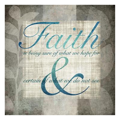 Faith Prints by Kristin Emery