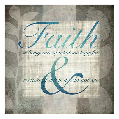 Faith Posters by Kristin Emery