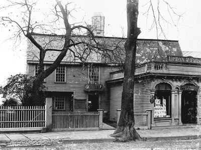 The Witch House, Salem Photographic Print by Henry Peabody