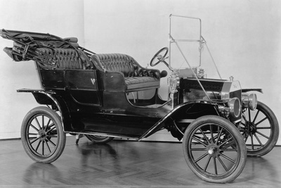 First Model T Ford Photographic Print