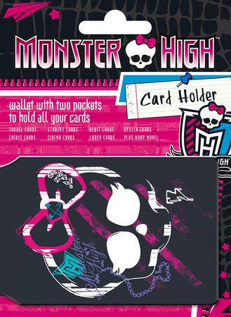 Monster High - Logo card holder Aparte producten