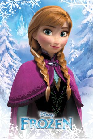 Frozen - Anna Plakát