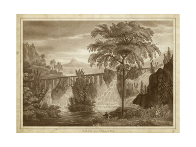 Road of Pillars Prints by Thomas Kelly