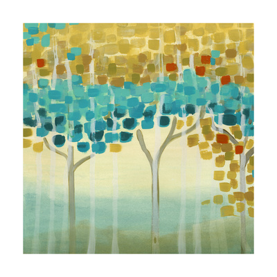 Forest Mosaic II Art by Erica J. Vess