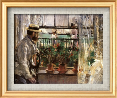 Eugene Manet Çerçeveli Dokuma Sanat