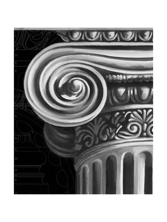 Ionic Capital Detail II Posters by Ethan Harper