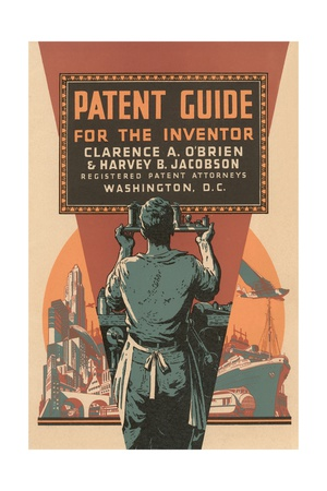 Patent Guide for the Inventor Giclee Print