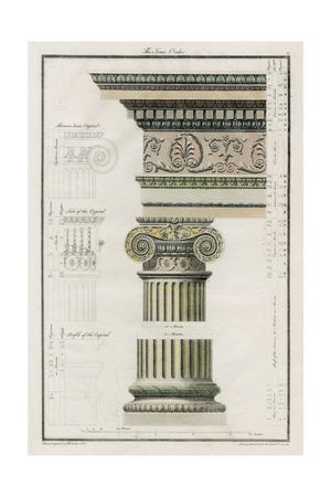 The Iconic Order Print by  Richardson