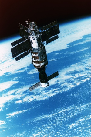 Salyut-7 Space Station Photographic Print by Roger Ressmeyer
