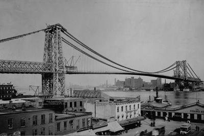 Williamsburg Bridge, New York Photographic Print