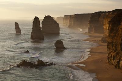 Twelve Apostles Sea Stacks in Australia Photographic Print by Paul Souders