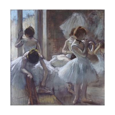 The Ballet Class Giclee Print by Edgar Degas
