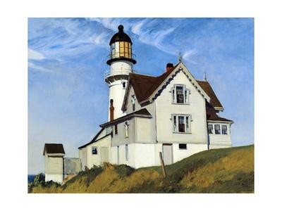 Captain Upton's House Giclée-Druck von Edward Hopper