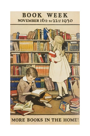 1930 Children's Book Council Book Week Giclee Print