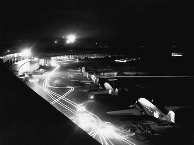 Milk Run During Berlin Airlift Photographic Print